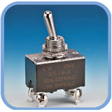 Toggle Switch-4PIN DPST (Toggle Switch-L200)