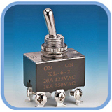 Toggle Switch-6PIN DPDT (Toggle Switch-L200)